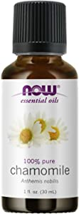 NOW Essential Oils, Chamomile Oil, Delightful Aromatherapy Scent, Steam Distilled, 100% Pure, Vegan, Child Resistant Cap, 1-Ounce