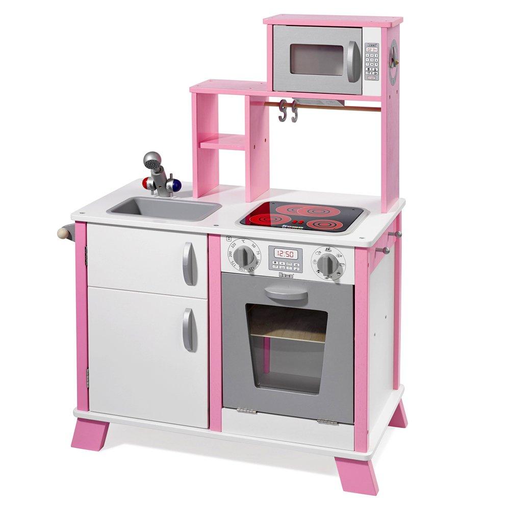 Kinderholzküchen mit Funktionen - howa Spielküche