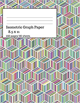 amazon isometric graph paper isometric graph paper notebook ideal