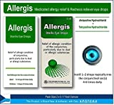Allergy & Redness Relief Eye Drops Twin Pack