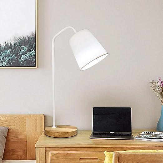 Dormitorio lámpara de mesa, lámparas de escritorio con base de ...