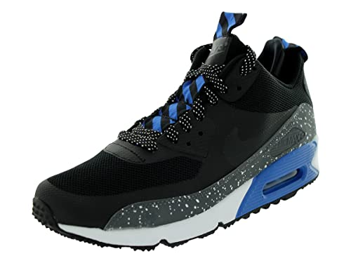on sale 9f3ed ac3d3 Nike Airmax 90 Sneakerboot Mens Running Shoes 616314-003 Black 9 M US  Buy  Online at Low Prices in India - Amazon.in