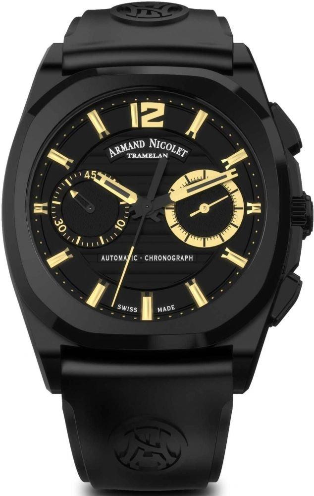 Armand Nicolet J09 Chronograph A654AQN-NC-GG4710N