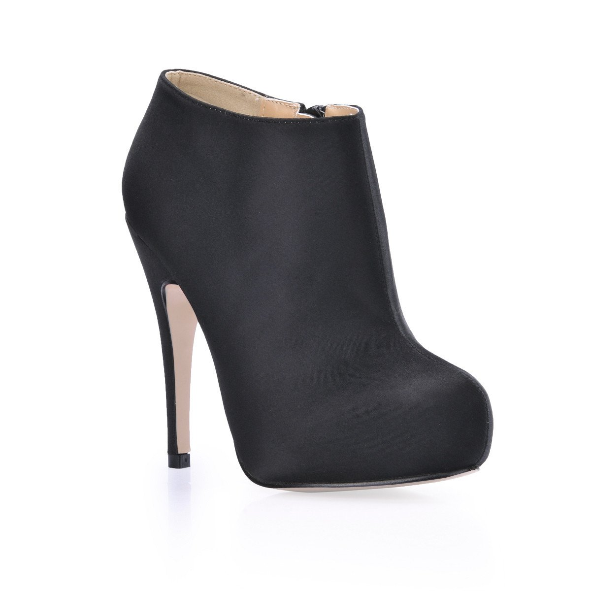 Noir Appuyez sur le nouveau haut-chaussures de talon et boîtes de nuit sexy chaussure rouge sauvage noir OL Ladies démarrage US10.5   EU42   UK8.5   CN43