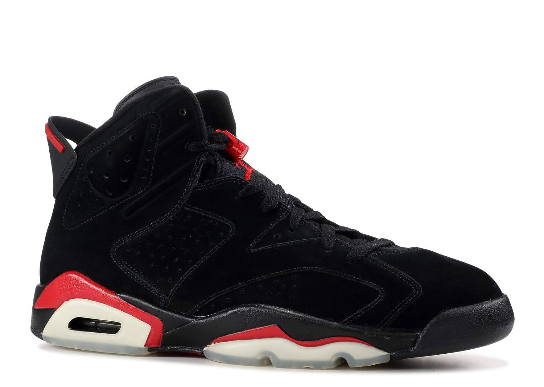 Air Jordan 6 Retro Shoe Jordan (BlackVarsity Red) from