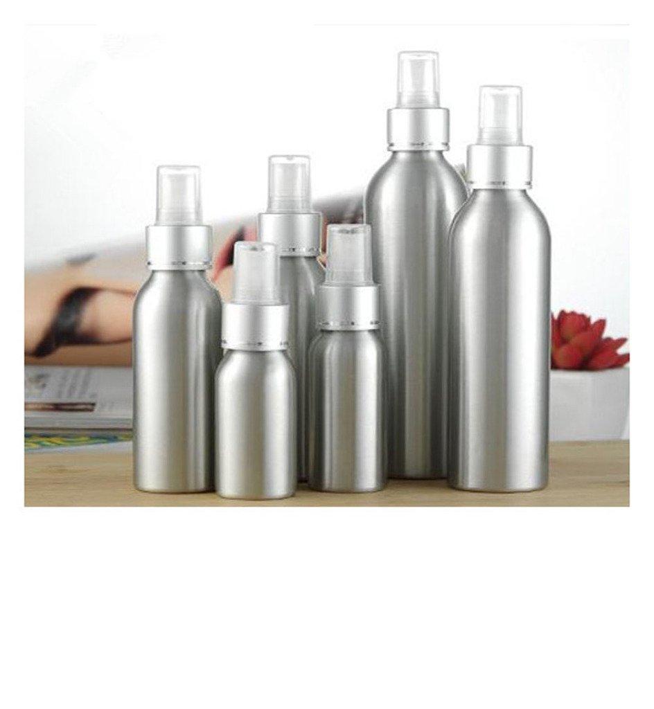 Distinct 1 PC Spray di Alluminio bottiglia riutilizzabile pompa di profumo vuota Bottiglie atomizzatore di alluminio dello spruzzo del mouse