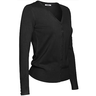 2LUV Plus Women's Slub Twisted Back Open Plus Size Cardigan