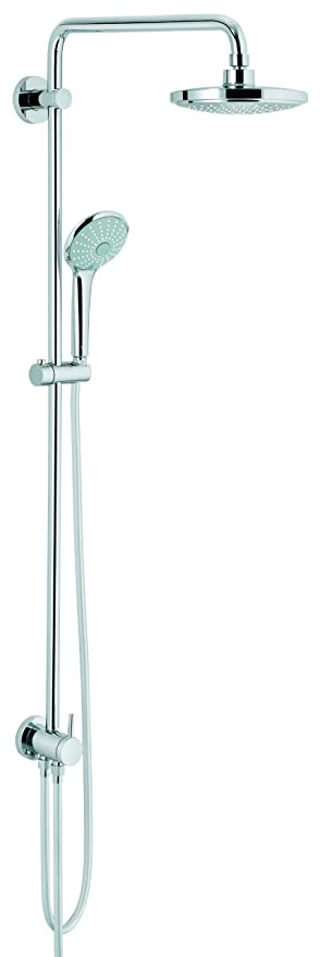 GROHE 27616000 Euphoria System 180 Shower System with Diverter ...