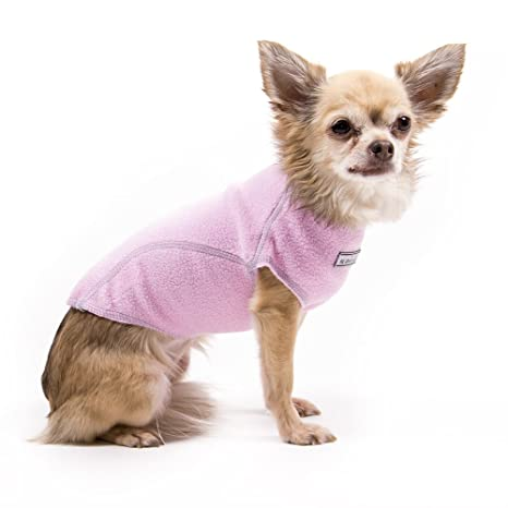 Amazoncom Fleece Dog Sweater Pink Xxl Extra Extra Large Cozy