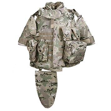 Adjust OTV Camouflage Interceptor Tactical Vest Colete Airsoft Tactical  Molle Body Armor Combat Plates Vest Multicam 3881fb549826f