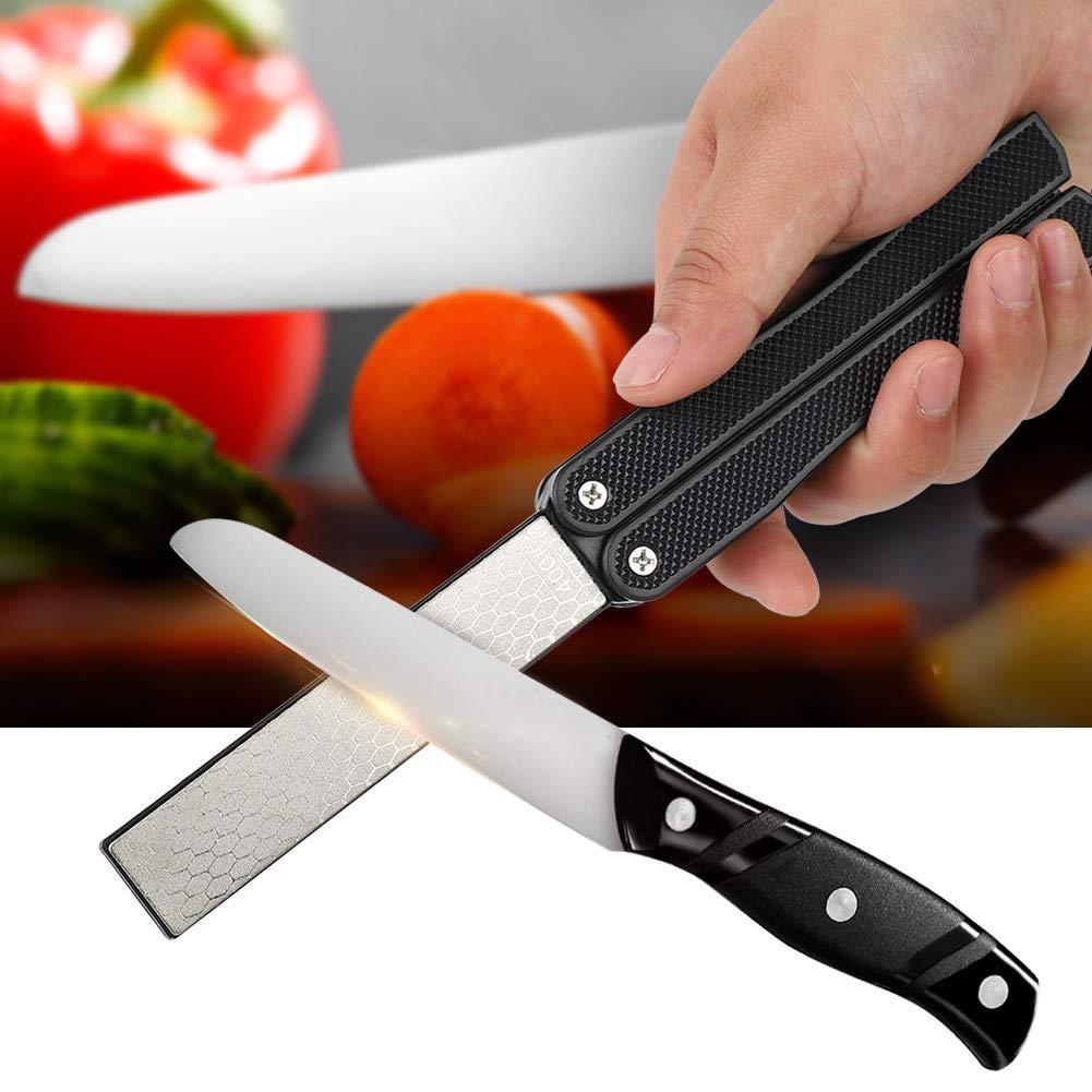 1.5cm Folding Sharpener Use for Home Double Sided Sharpener Multifunctional/Whetstone 12.5 3 Sharpening/Stone