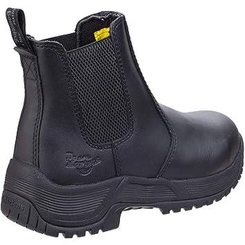 Dr Martens Mens & Womens drakelow punta de acero botas de seguridad, Chelsea, hombre
