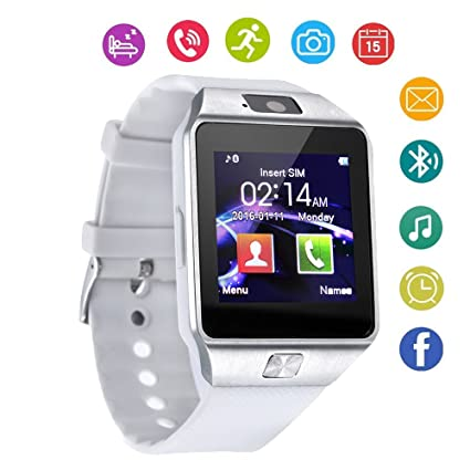 DZ09 Bluetooth Smart Watch Touch Screen with Camera and SIM Card TF/SD Card Slot Pedometer Activity Tracker for iPhone Android Phones Samsung Huawei ...