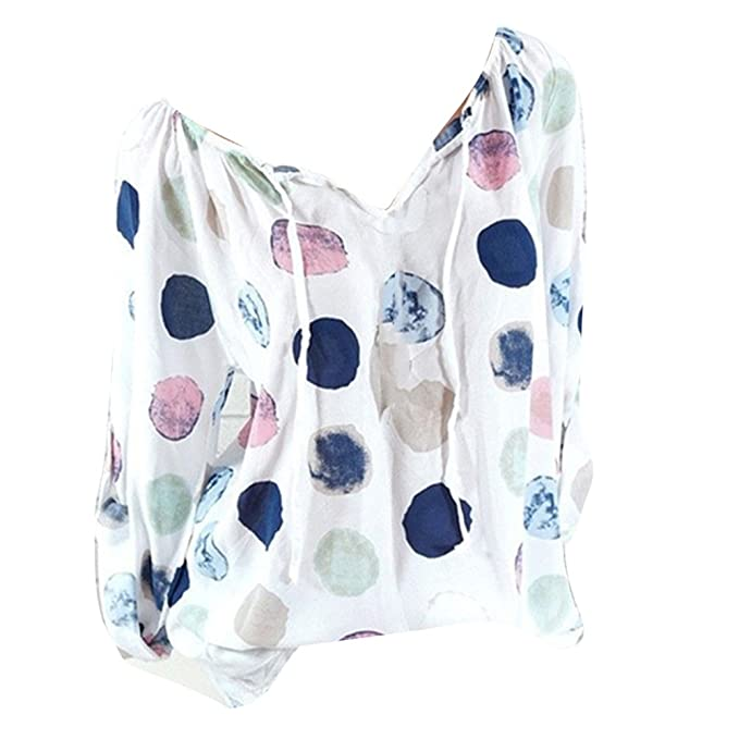 juqilu Blusas Para Mujer, Casual Moda Camiseta Cuello V Mujeres Camisetas Sweatshirt Sudaderas Básicas Pullover
