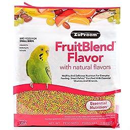 ZUPREEM 230329 Fruitblend Small Keet Food, 10-Pound