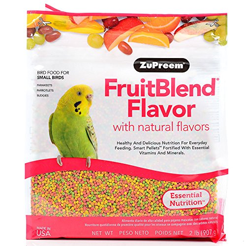 ZUPREEM 230329 Fruitblend Small Keet Food, 10-Pound (Zupreem Flavor Fruit Blend)