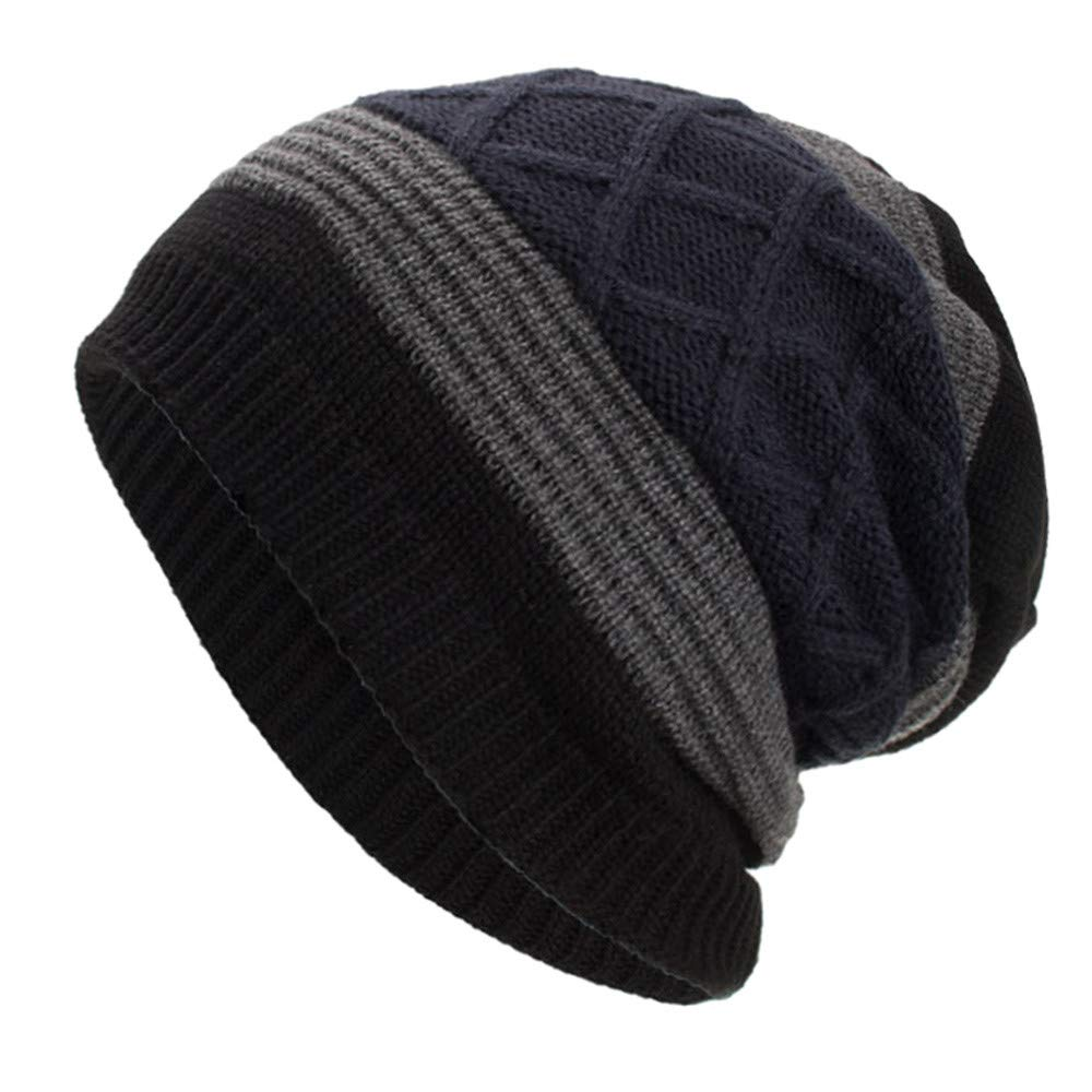 4aad3348799 Amazon.com  NRUTUP Warm Oversized Chunky Soft Oversized Cable Knit Slouchy  Beanie