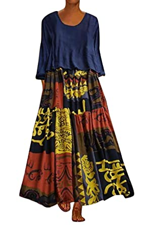 a basso prezzo 2702f 9636f Donna Gonna Due Pezzi Elegante Vestiti Svasati & T Shirt ...
