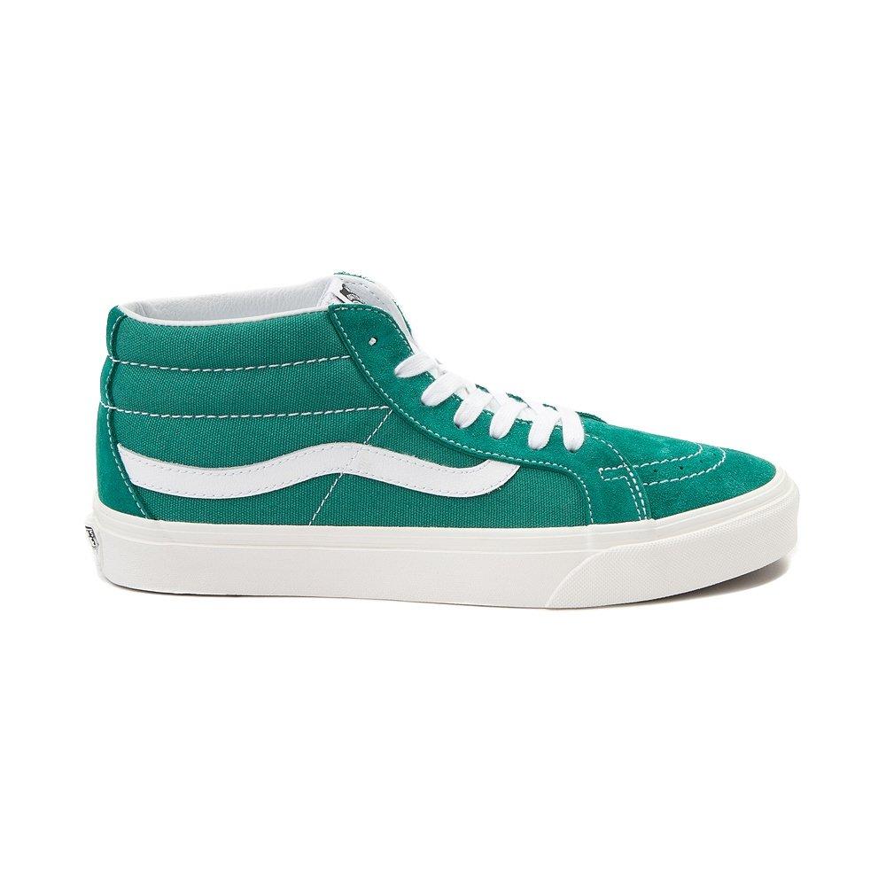 Vans Mens Authentic Low Top Lace Up Canvas Skateboarding Shoes B078Y9DJBR Men 5.5/Women 7|Cadmium Green 7295
