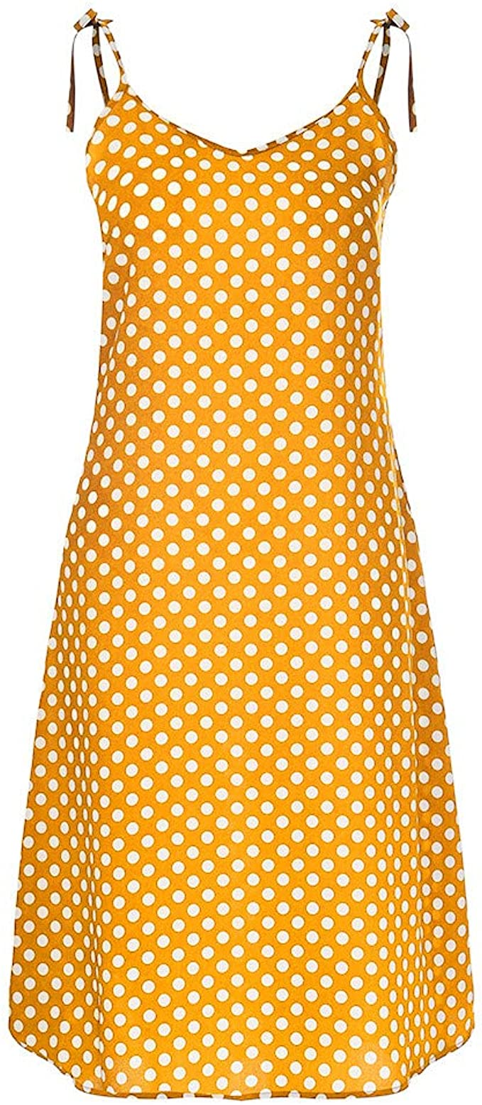 Kleid Damen,Pottoa Frauen Kleider Sommer Kleid Frauen Kurz