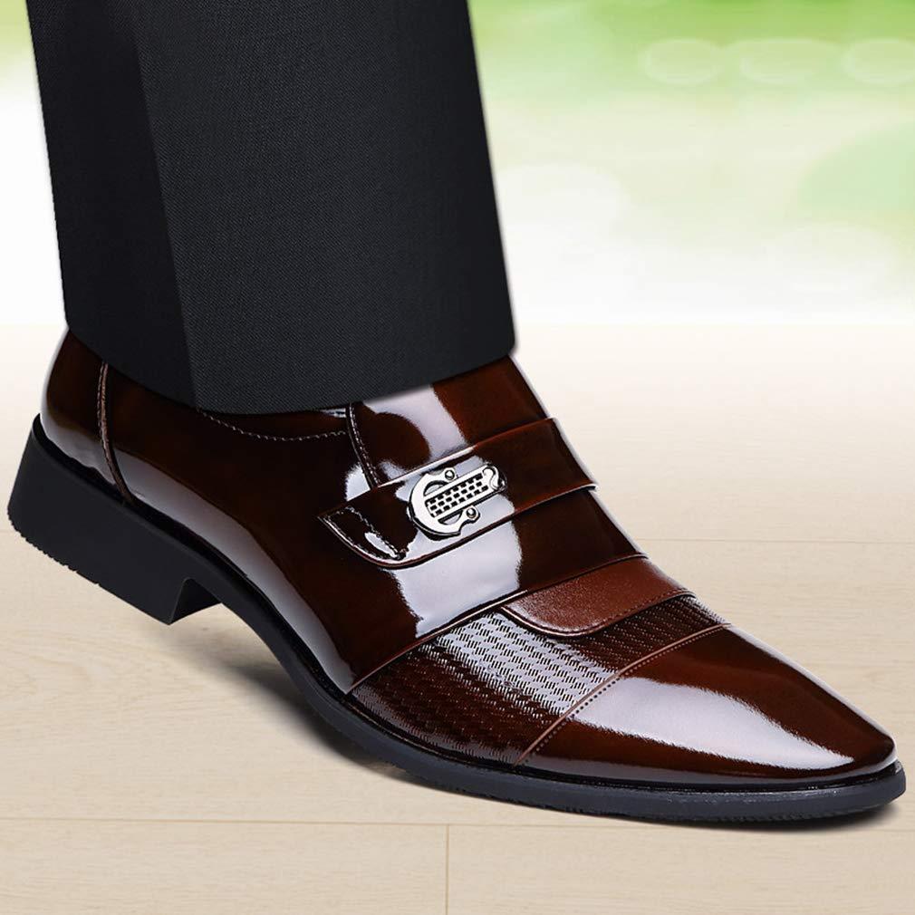 Zapatos De Cuero De Los Los Los Hombres De Moda Zapatos Formales Señaló Zapatos De Boda Y Zapatos De Noche De Vestir,A,38 2984b7