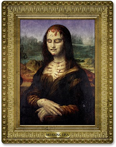 [Beistle 01246 Moaning Lisa Masterpiece, 23 by 18-Inch] (Scary Decorations)