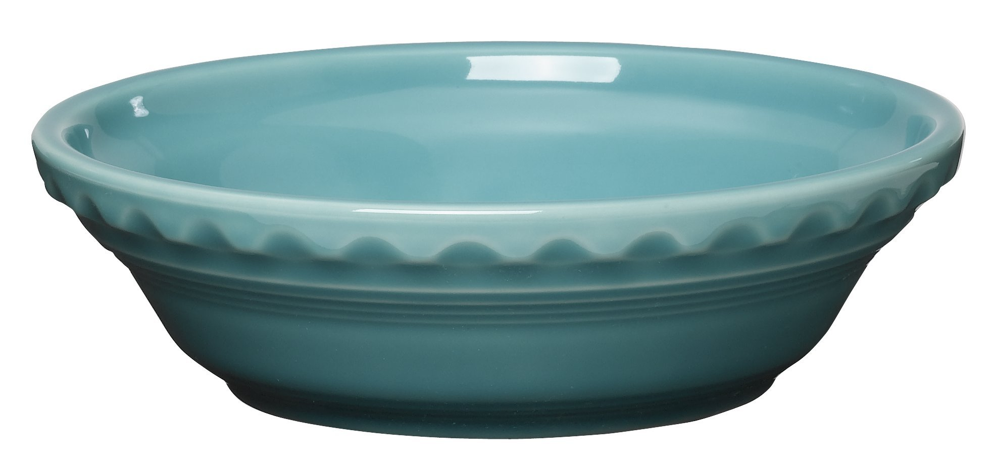 Fiesta 6-3/8-Inch Small Pie Plate, Turquoise