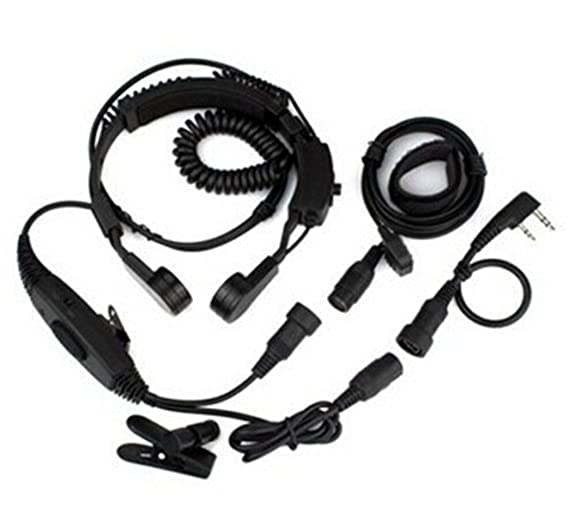 Amazon Com Baofeng Vox Headset Throat Mic Earpiece Uv 5r Uv 5ra