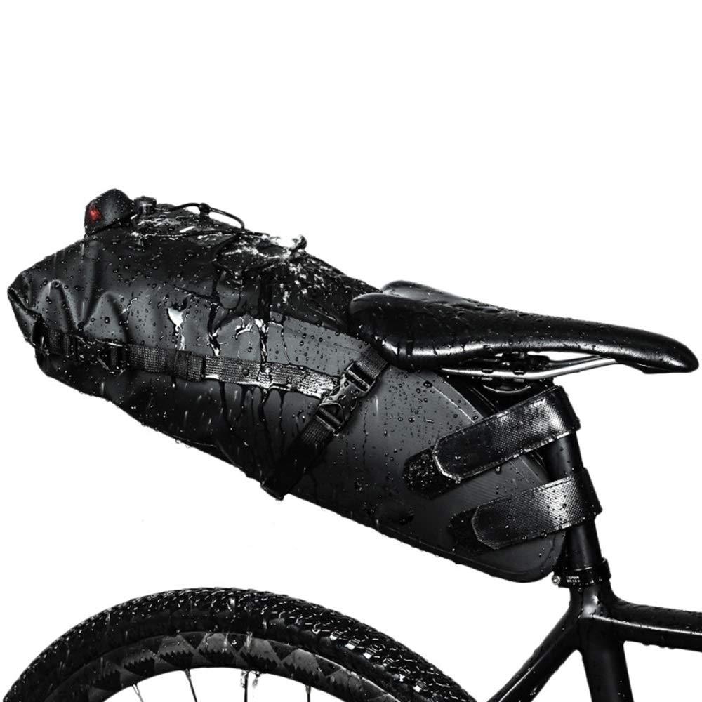 格安SALEスタート! バイクサドルバッグ、ロードマウンテンバイクバッグ防水バイクポーチ用バイクフレーム   B07PVV2PFG, アウトレット USA:60a191a7 --- arianechie.dominiotemporario.com