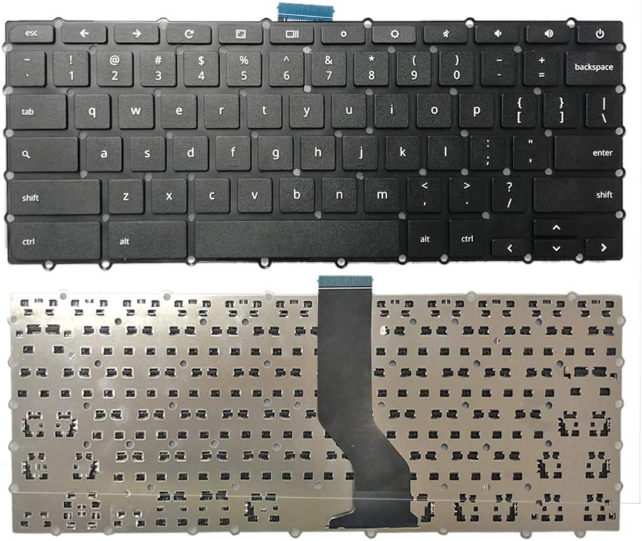 Zahara Laptop US Keyboard Replacement for Acer Chromebook 15 C910 CB3-431 CB3-531 CB3-532 CB5-571