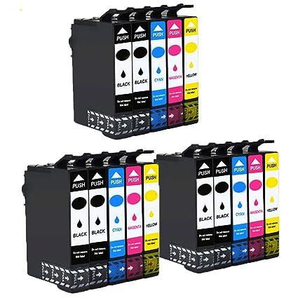 Teng® - Cartucho de tóner Compatible con Epson T0611-T0614 / T0615 ...