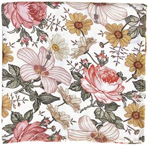 Amazon.com: Colcha para envolver con diseño floral - The ...