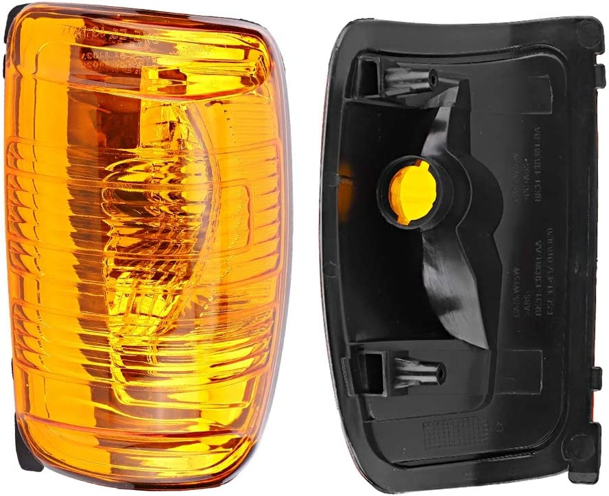 Qii lu Rearview Mirror Indicator Light Signal Lamp Cover for Right Side Fit for Ford Transit MK8