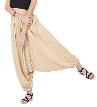 41cacc3c7dbc Winmaarc Men Women Rayon Baggy Yoga Harem Pants Plus Size Without Pocket   Amazon.in  Clothing   Accessories