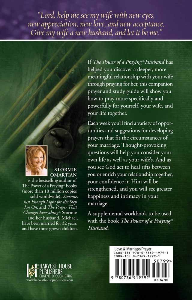The Power Of A Praying Husband Prayer And Study Guide Power Of