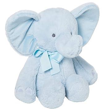Peluche Baby Elefante Celeste de 50cm: Amazon.es: Juguetes y ...