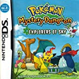 Pokemon Mystery Dungeon - Explorers of Sky DS Instruction Booklet (Nintendo DS Manual Only) (Nintendo DS Manual)