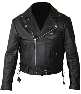 Fh mens terminator 2 judgment day arnold genuine leather jacket at fh mens terminator 2 judgment day arnold genuine leather jacket thecheapjerseys Images