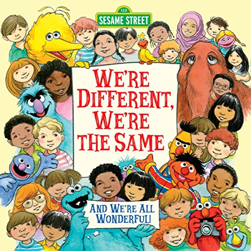 We're Different, We're the Same (Sesame Street) (Pictureback(R)) (Most Mixed Race Person In The World)