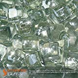 Starfire Glass® 20-Pound Fire Glass 'Fire-Cubes' 1-Inch Crystal...
