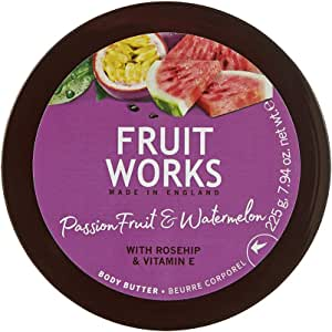 Fruit Works Passion Fruit & Watermelon Body Butter 1x 225g