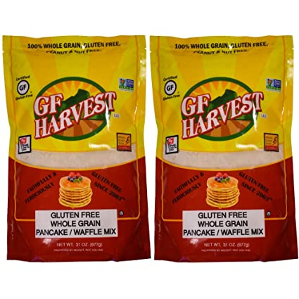 GF Harvest Gluten - Mezcla de pancakes sin gluten, grano ...