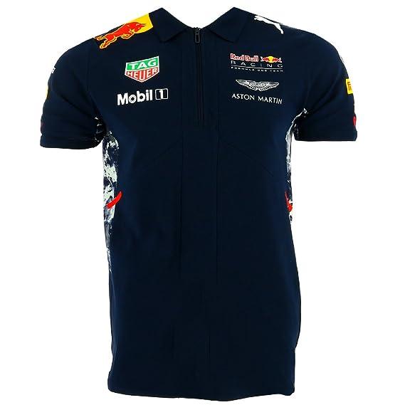 Red Bull Infiniti F1 Racing Team Drivers Puma Polo Camisa Oficial ...