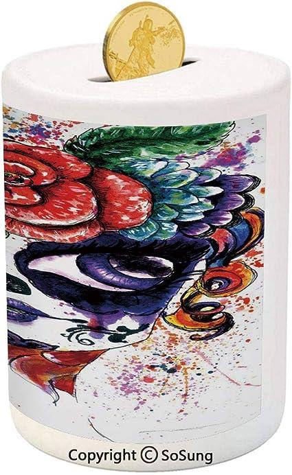 Sugar Skull Plate Paint Your Own Ceramic Keepsake