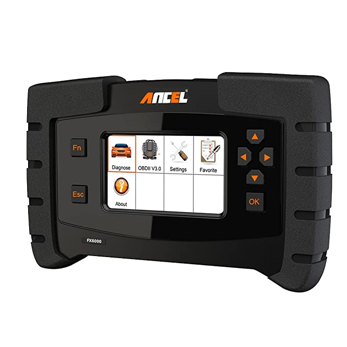 ANCEL FX6000 OBD2 Scanner with Full System Automotive Code Reader Vehicle  OBDII Diagnostic Scan Tool for Engine ABS SRS Transmission DPF TPMS EPB  IMMO