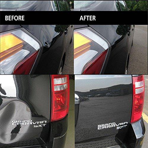 WHDZ Paintless Dent Repair Tools Kit, Tool Kit for Hail Damage Removal - 21pcs Paintless Dent Rods Dent Puller Slide Hammer Dent Lifter Glue Gun Tap Down Light Reflect Board Auto Dent Repair Kit by WHDZ (Image #7)