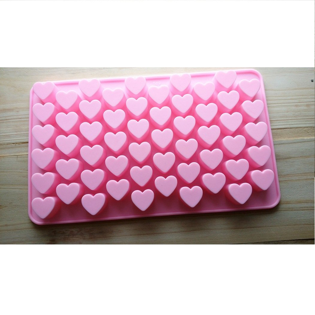 Allforhome Mini Heart Silicone Mold for Soap Embeddables Chocolate Candy Cake Decoration Moulds NWIDEKKFNK851