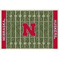 Nebraska Cornhuskers NCAA College Home Field Team Area Rugs