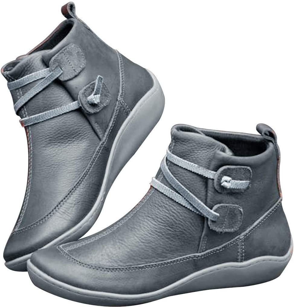 Women's Arch Support Ankle Boots Comfy
