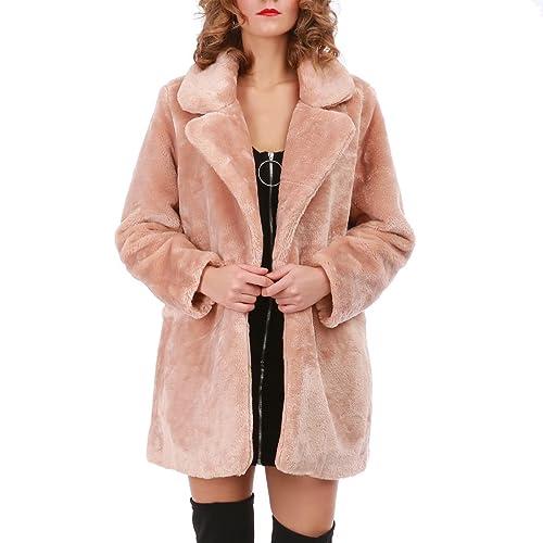 La Modeuse - Abrigo - para mujer Rose Small